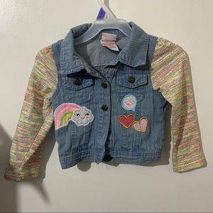 Nannette Kids Little Girls Jean Jacket size 3t